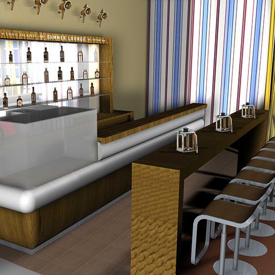 ENVY Projekt - Long Island Air Lounge