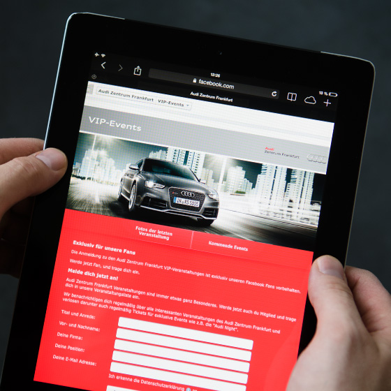 ENVY Project - Audi Zentrum Frankfurt Facebook Fanpage - Image 2