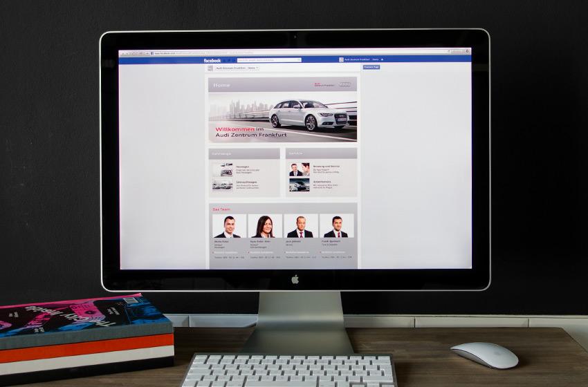 ENVY Project - Audi Zentrum Frankfurt Facebook Fanpage