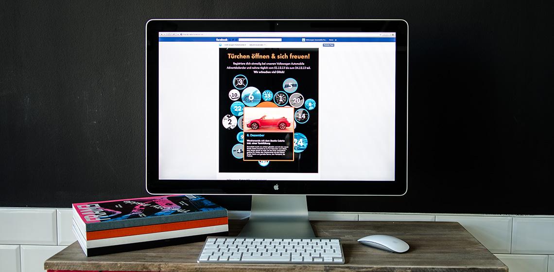 ENVY Project - Volkswagen Automobile Frankfurt adventski kalendar