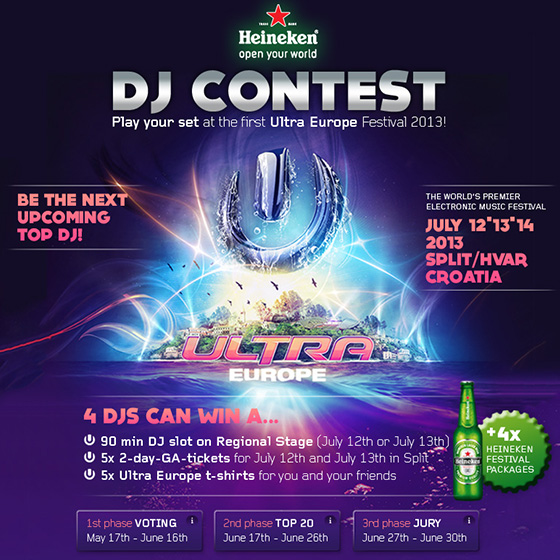 ENVY Project - Ultra Europe DJ-Contest - Image 1