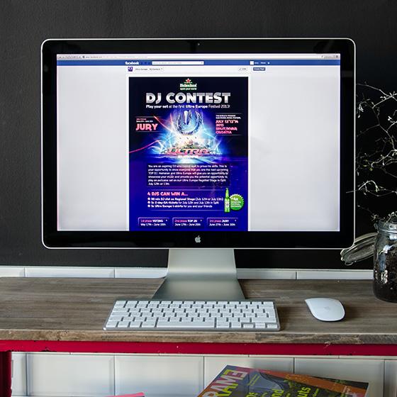 ENVY Projekt - Ultra Europe DJ-Contest