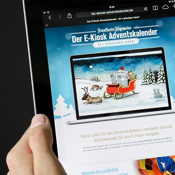 ENVY Project - E-kiosk adventski kalendar 2013 - Image 1