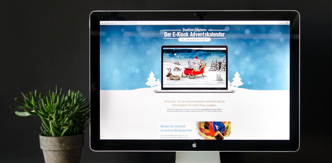ENVY Project - E-kiosk adventski kalendar 2013