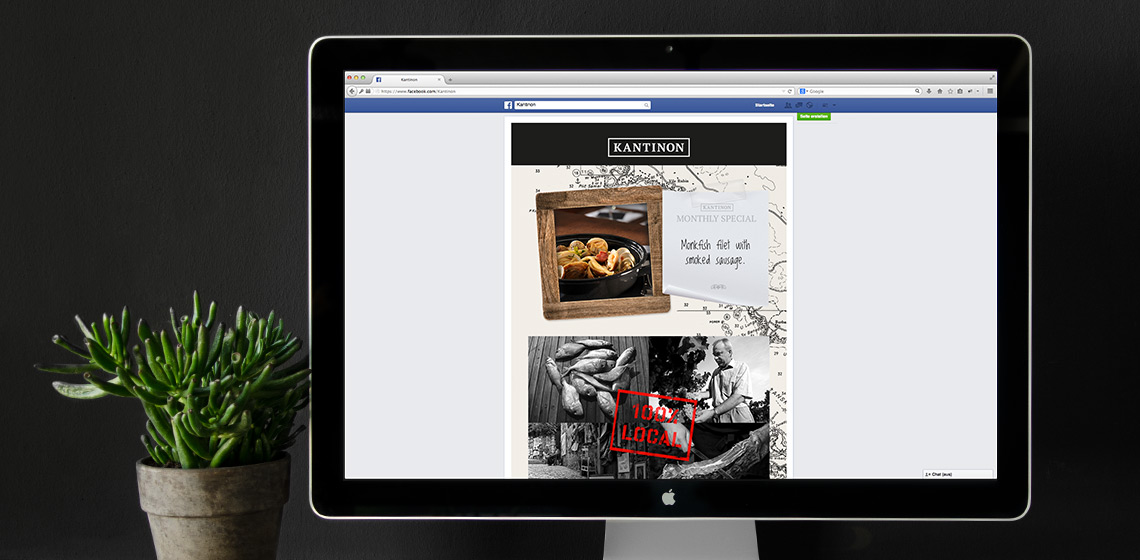 ENVY Project - Kantinon Facebook Fanpage