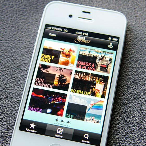 ENVY Project - Ibiza Finest App - Image 1