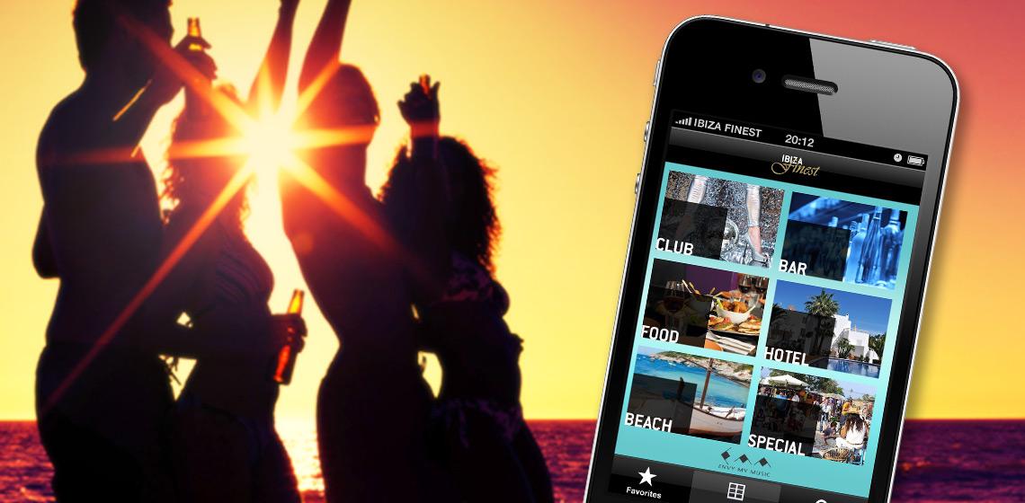 ENVY Project - Ibiza Finest App