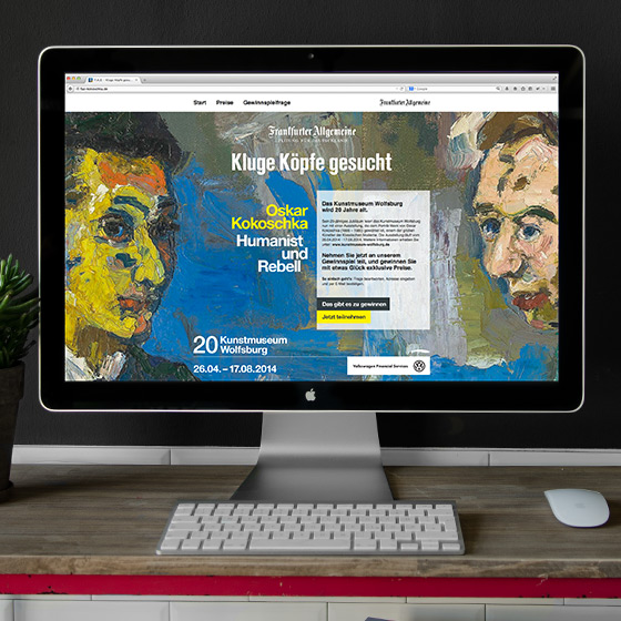 ENVY Project - Kokoschka Online Promotion