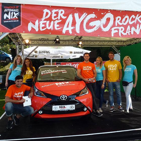 ENVY Project - Der neue AYGO rockt Frankfurt! - Image 2