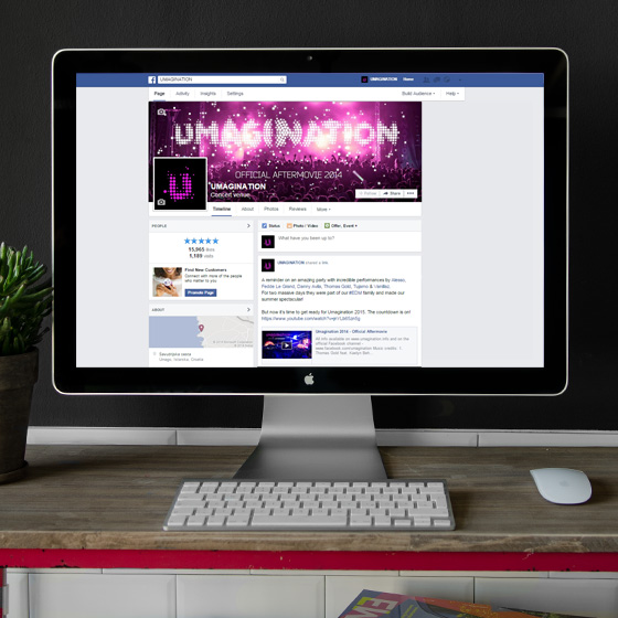 ENVY Project - Umagination Facebook Fanpage