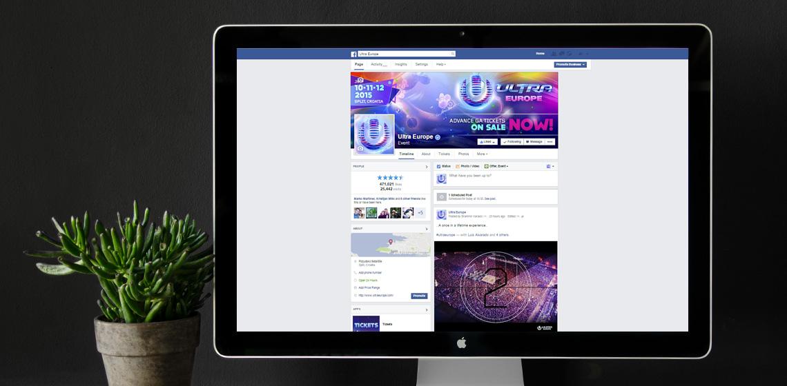 ENVY Project - Ultra Europe Social Media i digitalno oglašavanje