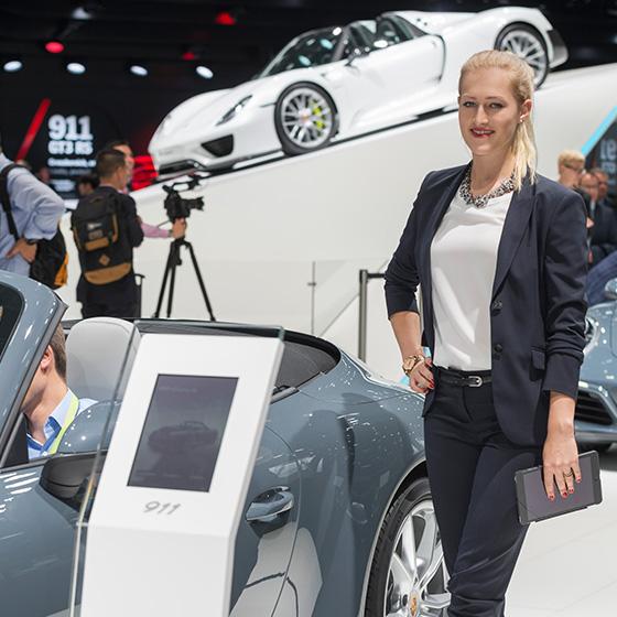 ENVY Project - envy my people für Porsche - IAA 2015 - Image 6