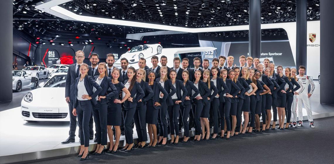 ENVY Project - envy my people für Porsche - IAA 2015