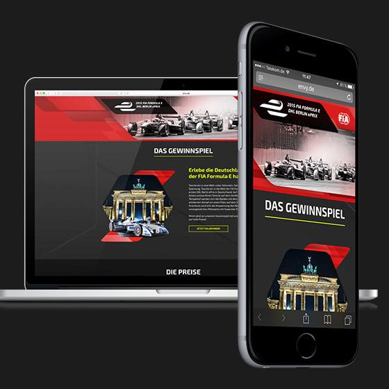 ENVY Project - Formula E DHL Berlin e-Prix