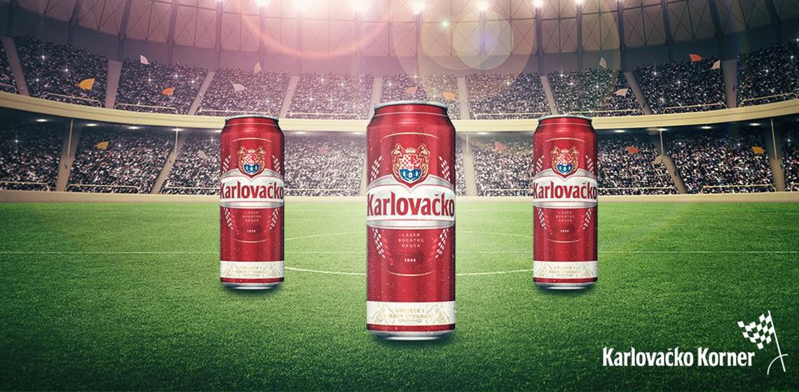 ENVY Aktualni projekti - Karlovačko Football Campaign