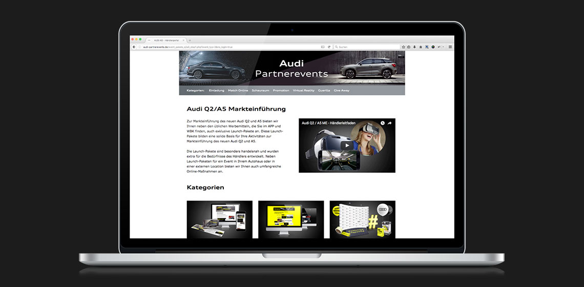 ENVY Project - Audi Q2 Market Launch - Image 1