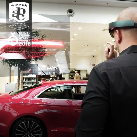 ENVY Project - Audi HoloLens experience