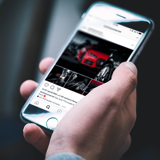 ENVY Current projects - Audi retailer Marnet social media