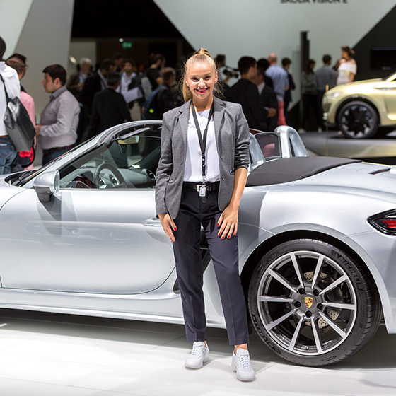 ENVY Project - envy my people für Porsche - IAA 2017 - Image 1