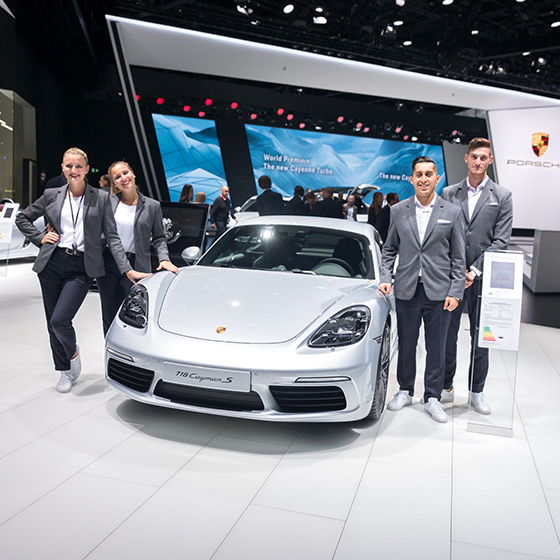 ENVY Project - envy my people für Porsche - IAA 2017 - Image 11
