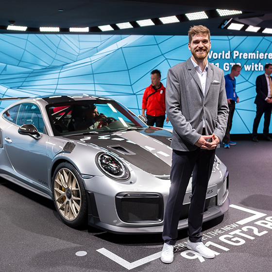 ENVY Project - envy my people für Porsche - IAA 2017 - Image 9