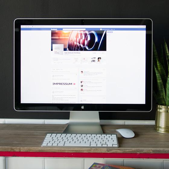 ENVY Projekt - Facebook profili za Audijeve pro...